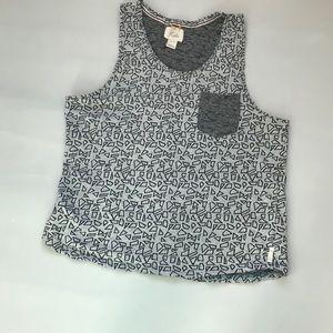 Koto womens Tank Top Shirt size XL-TG Cotton
